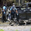 Insurgent bomb attacks in Southern Thailand