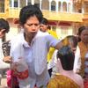 Buddhist ritual bathing in the Chol Chnam Thmay Festival