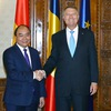 Romanian president vows to advocate EVFTA, EVIPA signing