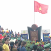 New year flag salute at Vietnam's easternmost mainland point