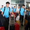 Vietnam U23s return to HCM City for final preparation stage before AFC U23 Championship
