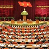 Party Central Committee discuss documents on second working day of 13th session