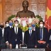 PM hosts former German Deputy Prime Minister