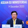 Deputy PM: Vietnam supports upgrade of ASEAN-EU ties to strategic partnership