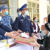 Coast guards work to strengthen solidarity with ethnic people and religious followers