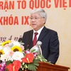 Do Van Chien named President of Fatherland Front