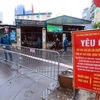 Residents of Hanoi inner districts allowed grocery shopping trips