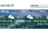 Các đại biểu có thể cập nhật thời tiết tại Nha Trang trên trang thông tin của LHTHTQ