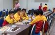 Các kỳ thủ Việt Nam tham dự giải cờ vua trẻ VĐTG