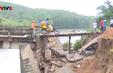 Sau mưa lũ, hệ thống giao thông Bình Định hư hỏng nghiêm trọng