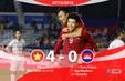 HIGHLIGHTS: U22 Việt Nam 4-0 U22 Campuchia (Bán kết môn bóng đá nam SEA Games 30)