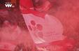 CĐV Hải Phòng gây náo loạn sân Hàng Đẫy với chai nhựa, pháo sáng