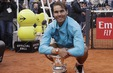 Thắng kịch tính Djokovic, Nadal lên ngôi xứng đáng tại Rome Masters 2019