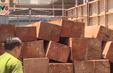 Đắk Lắk truy tìm lái xe chở gỗ lậu tông xe vào lực lượng chức năng