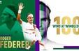 Roger Federer cán mốc lịch sử: 100 trận thắng tại Wimbledon