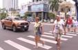 Bất cập vạch đi bộ ở Nha Trang