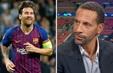 Rio Ferdinand khuyên Messi nên rời khỏi Barcelona