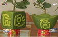 Độc đáo trái cây tạo hình Tết