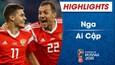 HIGHLIGHTS: Nga 3-1 Ai Cập (Bảng A FIFA World Cup™ 2018)