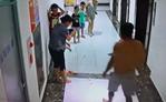 Bé trai bị gạch ốp cửa thang máy rơi trúng đầu phải nhập viện