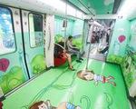 Trung Quốc: Ngắm cảnh biển tuyệt đẹp trên tàu điện ngầm Hạ Môn - ảnh 1