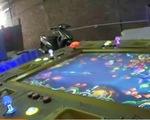 """""""Đột nhập"""" lò sản xuất máy đánh bạc trá hình chơi game"""