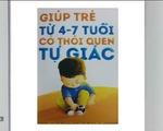 """Sách hay: """"Giúp trẻ từ 4-7 tuổi có thói quen tự giác"""""""