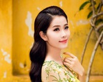 Ngắm nhan sắc ngọt ngào của Hoa khôi Nguyễn Thị Lệ Nam Em