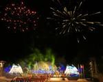 Toàn cảnh lễ bế mạc Đại hội thể thao bãi biển châu Á ABG5 - 2016