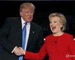 Kết thúc phiên 'đấu khẩu' đầu tiên của Hillary Clinton - Donald Trump