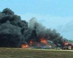 Máy bay B-52 của Mỹ rơi tại đảo Guam