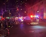 Hiện trường vụ nổ lớn ở New York khiến 26 người bị thương