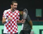 Bán kết Davis Cup: ĐT Croatia tạm hòa trước ĐT Pháp