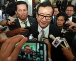 Campuchia cấm ông Sam Rainsy về nước