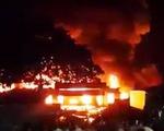 Cháy chợ lớn nhất huyện Hương Khê, Hà Tĩnh