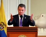 Tổng thống Colombia kéo dài lệnh ngừng bắn với FARC đến hết năm