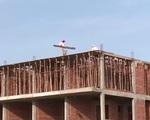 Đại công trình ở Lý Sơn chưa được cấp phép đã xây dựng