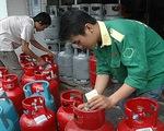 Giá gas tại TP.HCM tăng 15.000 đồng/bình 12kg