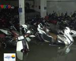 Hàng trăm xe máy, ô tô chìm nghỉm trong hầm ở TP.HCM