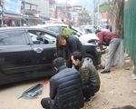 5 xe ô tô bị đập phá cửa kính trong đêm để trộm tài sản