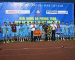 VTV giành huy chương bạc tại giải bóng đá Press Cup 2016