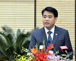 Chủ tịch Nguyễn Đức Chung báo cáo Chính phủ về cá chết ở Hồ Tây
