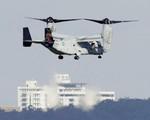 Máy bay Osprey hoạt động trở lại tại Nhật Bản