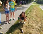 Mỹ: Hy hữu người phụ nữ bị thương vì... cá từ trên trời rơi trúng mặt