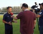 """HLV Hoàng Anh Tuấn: """"Cơ hội chia đều cho U19 Việt Nam và U19 UAE"""""""