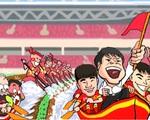 Lời chúc độc đáo của họa sỹ An Thắng tới ĐT Việt Nam