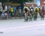VIDEO, Xem lại màn nước rút ngoạn mục của Nguyễn Thanh Tâm ở chặng 5