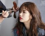 Kể cả trong ảnh hậu trường, Suzy vẫn long lanh như thế này
