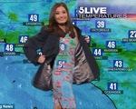 Hài hước chuyện nữ MC thời tiết bất ngờ 'vô hình' trên màn ảnh
