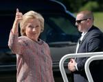Sau ồn ào về sức khỏe, bà Hillary Clinton đã trở lại đường đua vào Nhà Trắng